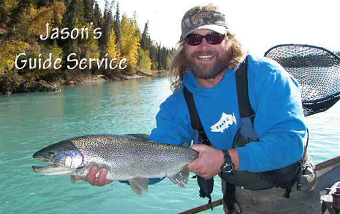 Jason 39 s guide service cooper landing and kenai river for Cooper landing fishing guides