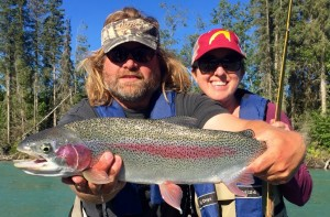 Rainbow Trout with Jasons Guide Service on Kenai